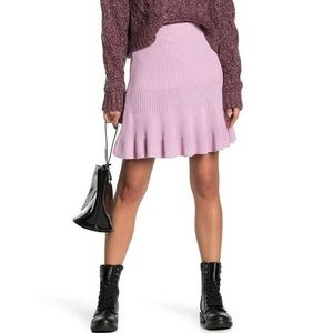 Free People Solid Gold Skirt New Orchid Size Small